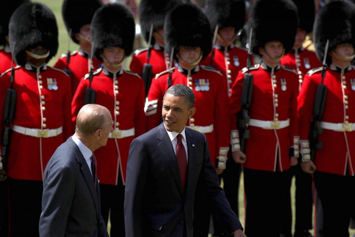 С бывшим американским президентом Бараком Обамой.