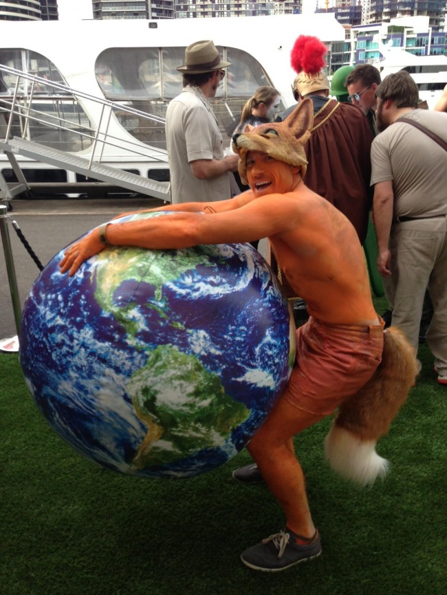 Браузер Firefox в натуральную величину.