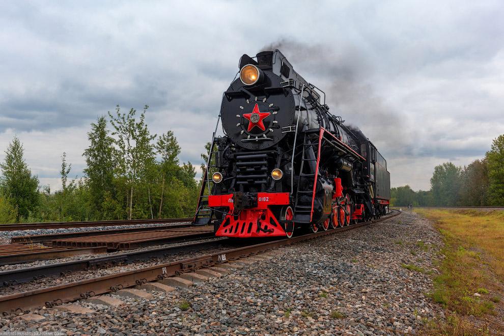 9. И, конечно,  П36 — советский магистральный пассажирский паровоз , выпускавш