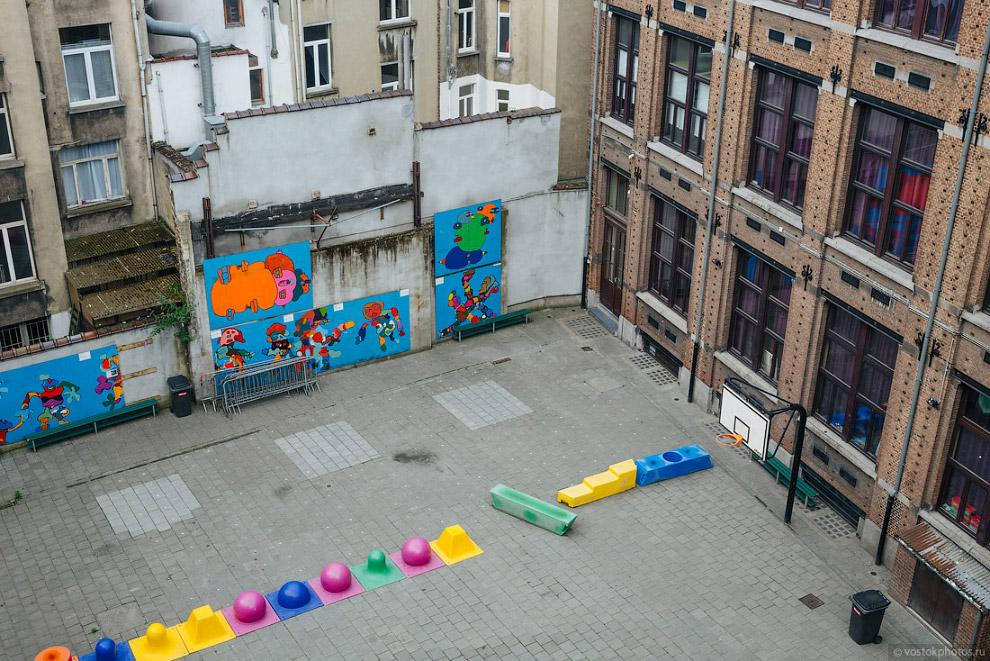Понятно, что в историческом центре столицы Евросоюза все очень тесно, но неужели бельгийцы сч