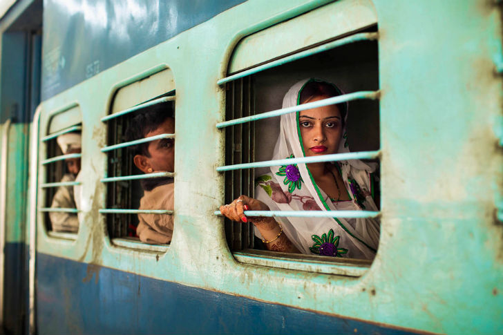 Живописные индийские поезда каждый год перевозят около 7 миллиардов пассажиров по всей стране.
