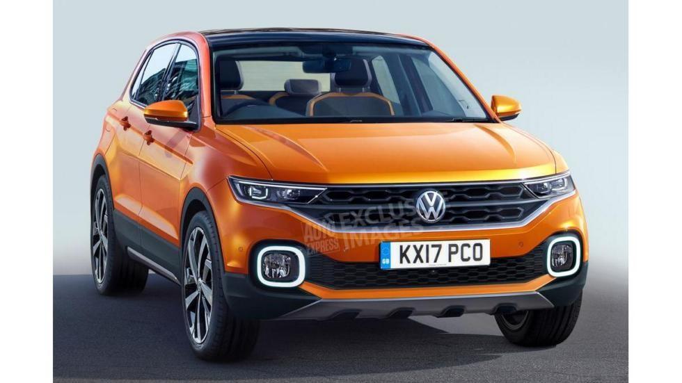 Volkswagen выпустит новый кроссовер в 2018 году (2 фото)