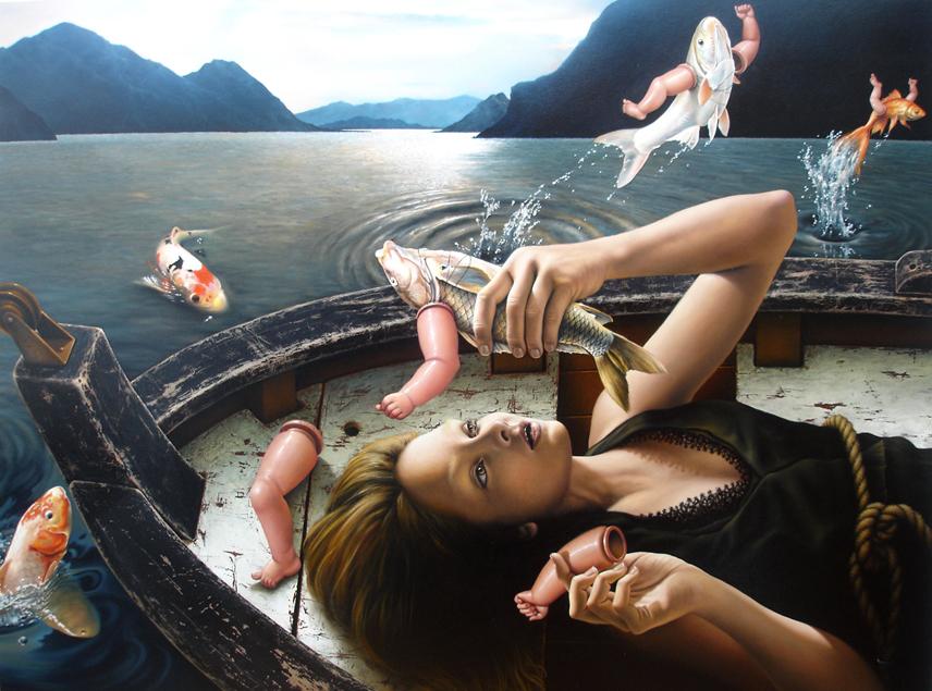 Экстравагантные картины Хорхе Сантоса
