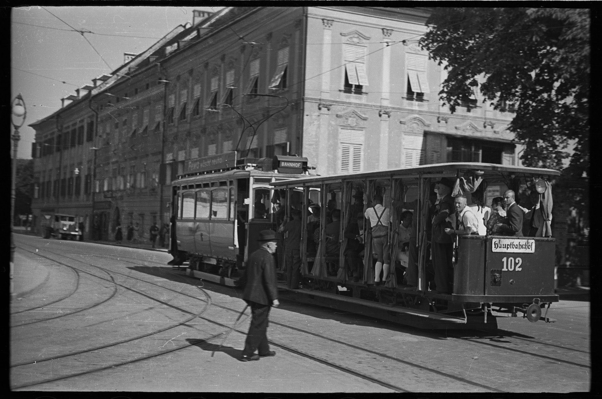Учеба в институте. Германия (территория Австрии после аншлюса), 1943 год