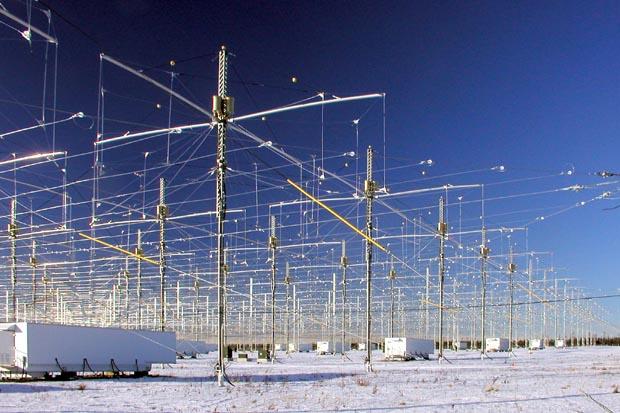 HAARP, США   Комплекс, который был запущен в 1997 году на Аляске, предназначен