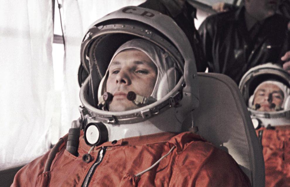 Старт космического корабля. Первый человек на Земле отправляется в космос, 12 апреля 1961. Поехали!