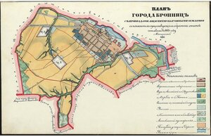 План города Бронницы