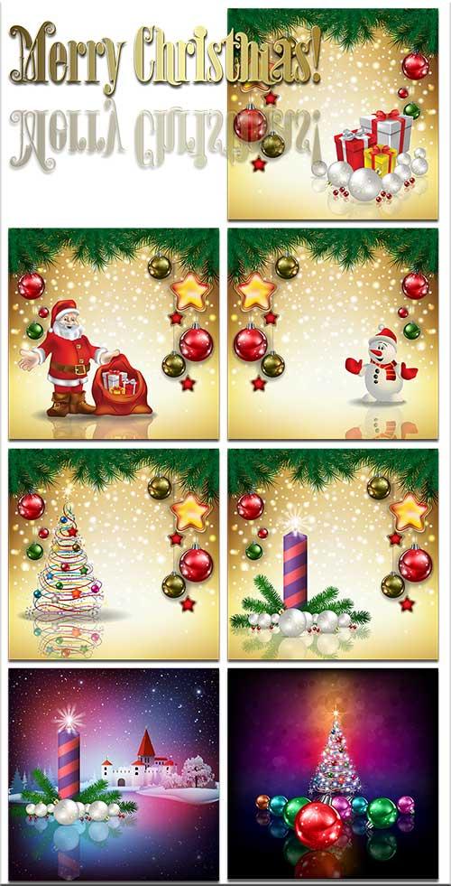 Новогодние фоны-Новогодние композиции.8 часть/Christmas backgrounds-Christmas composition.Part 8