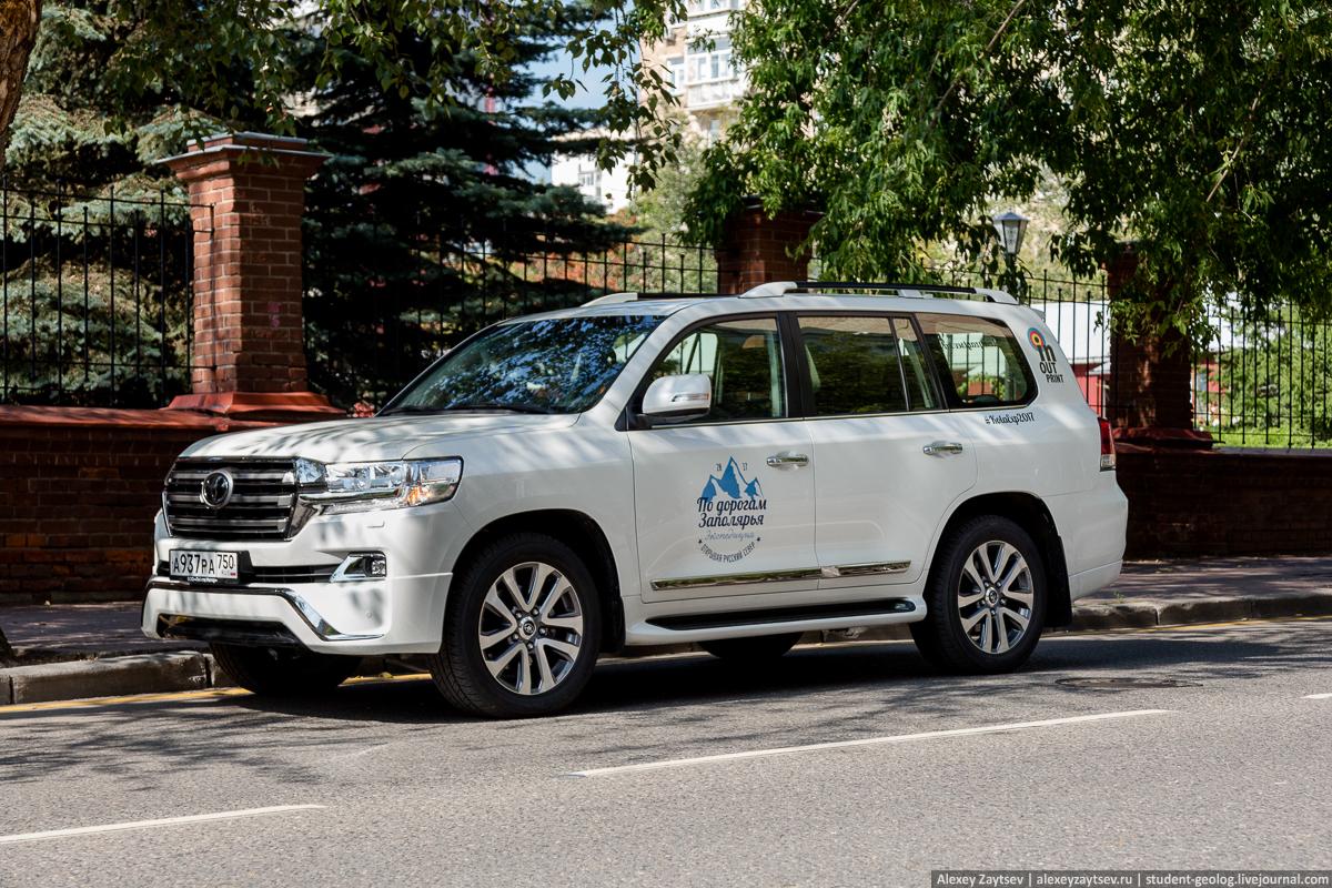 Toyota land cruiser 200 по дорогам заполярья