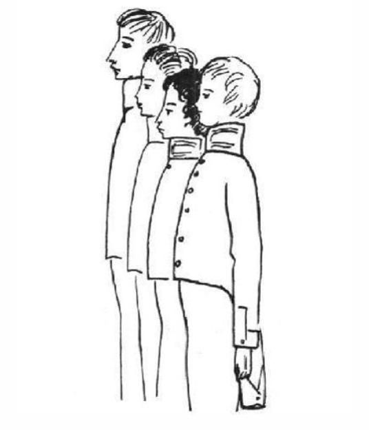 Фото 13 - Пушкиниана - Лицеисты-вольнодумцы Кюхельбекер, Пущин, Пушкин, Дельвиг.jpg