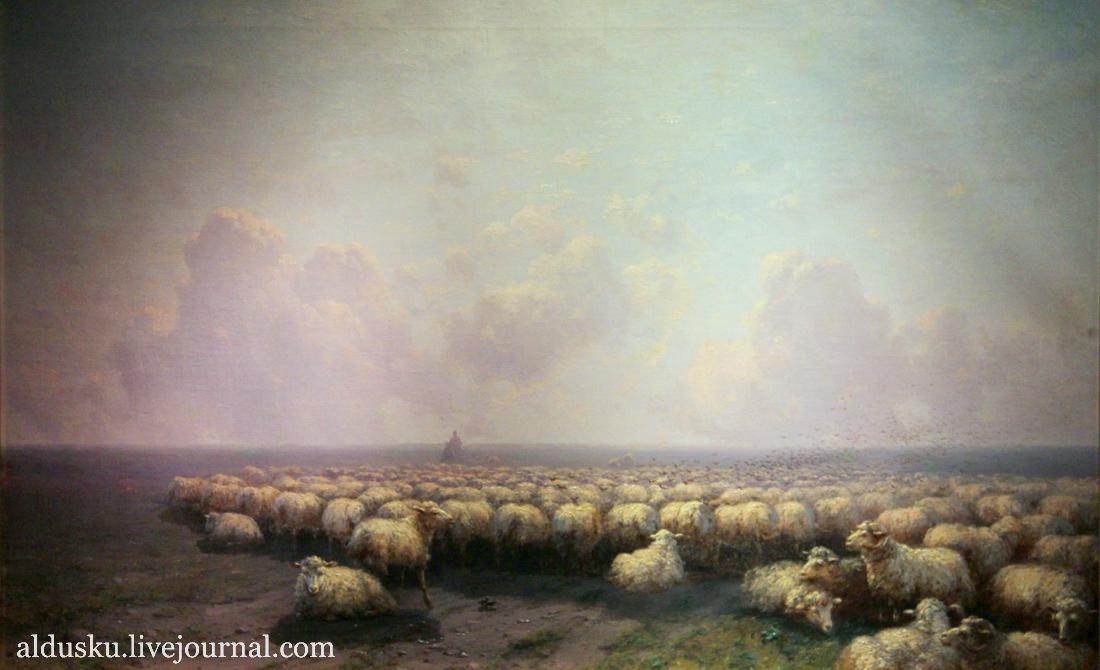Айвазовский И.К. «Отара овец» 1884