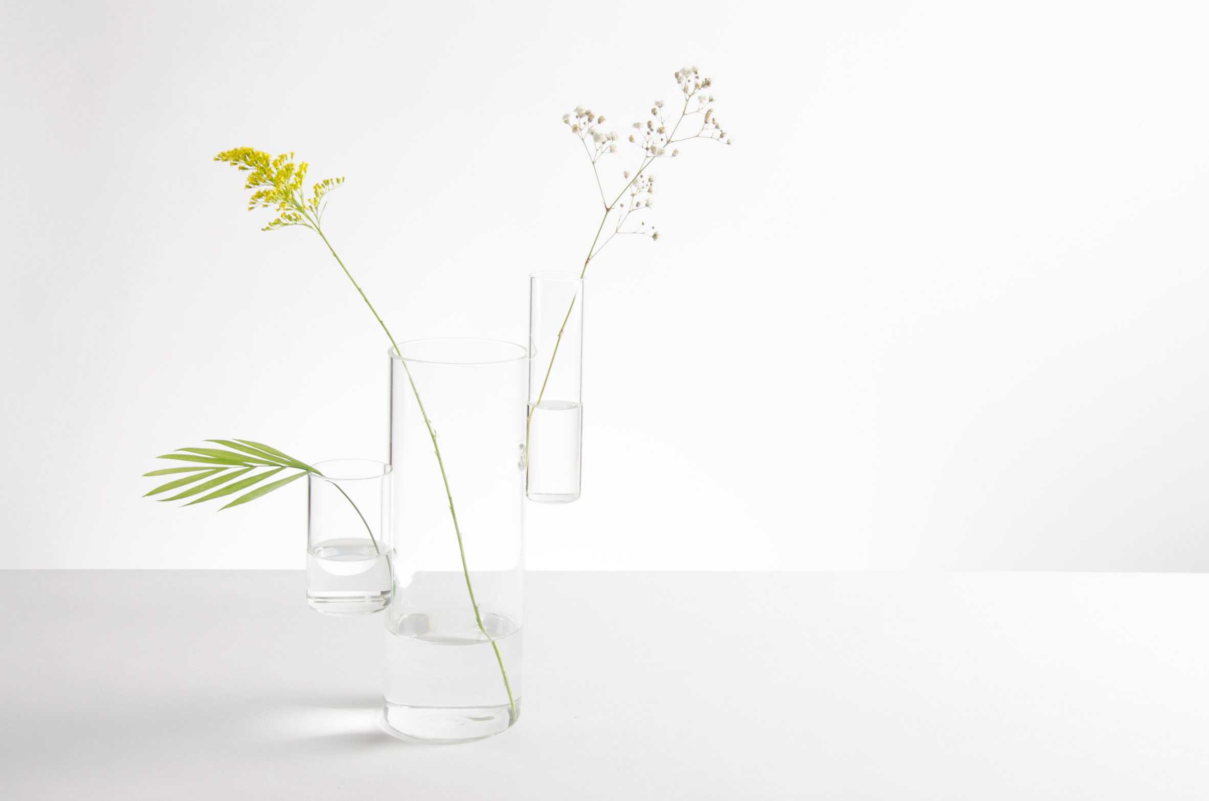 Playful Flower Vases by Designer Moises Hernandez