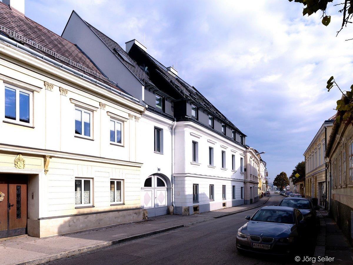 Новый облик здания 18-го века