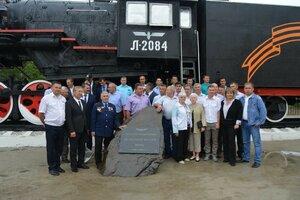 5 августа на площади Дома культуры железнодорожников состоялось торжественное открытие памятника «Паровоз»