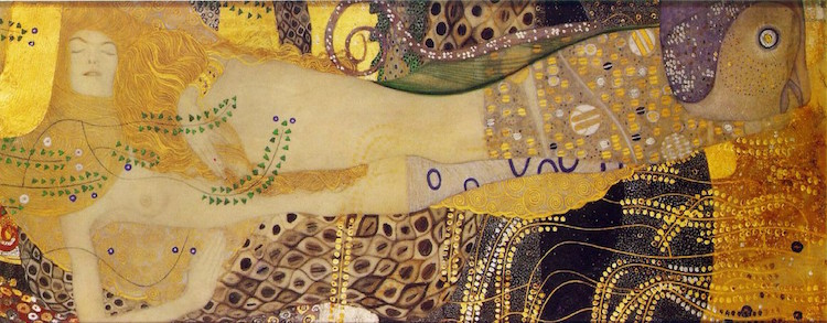 The Story Behind Gustav Klimt's Symbolist Painting 'The Kiss'