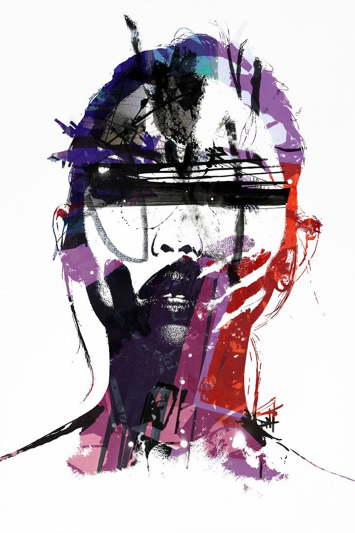 Amazing Digital Artist by Alex Cherry