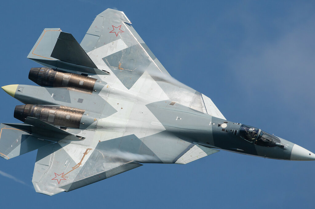 ПАК ФА (Т-50) сольный пилотаж