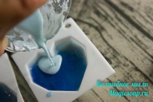холодное сердце мыло из основы