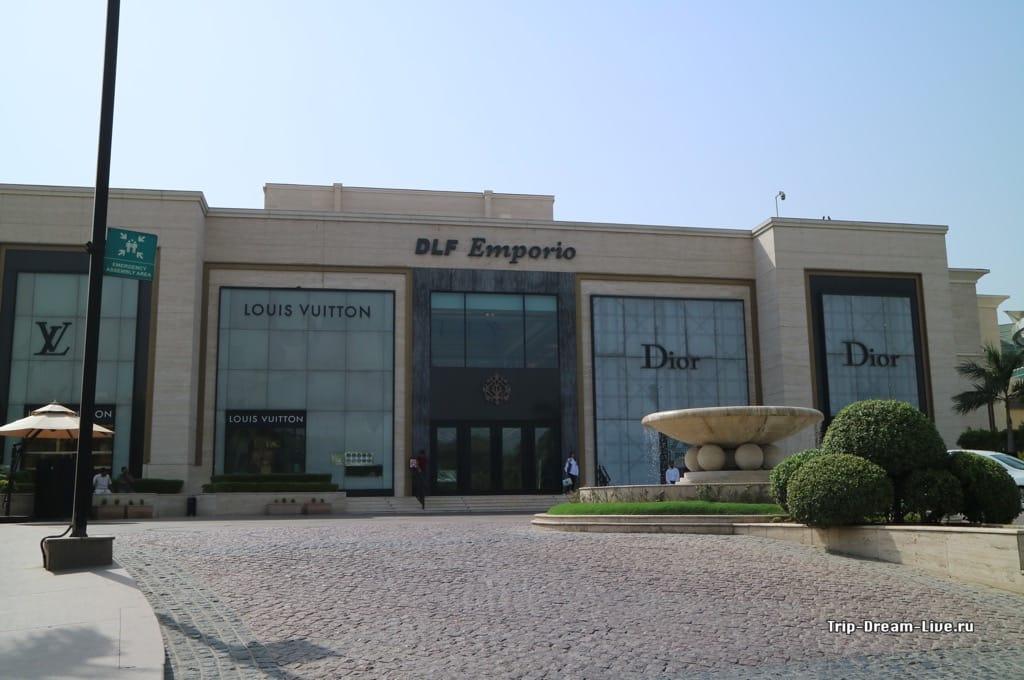 Торговый центр DLF Emporio в Дели