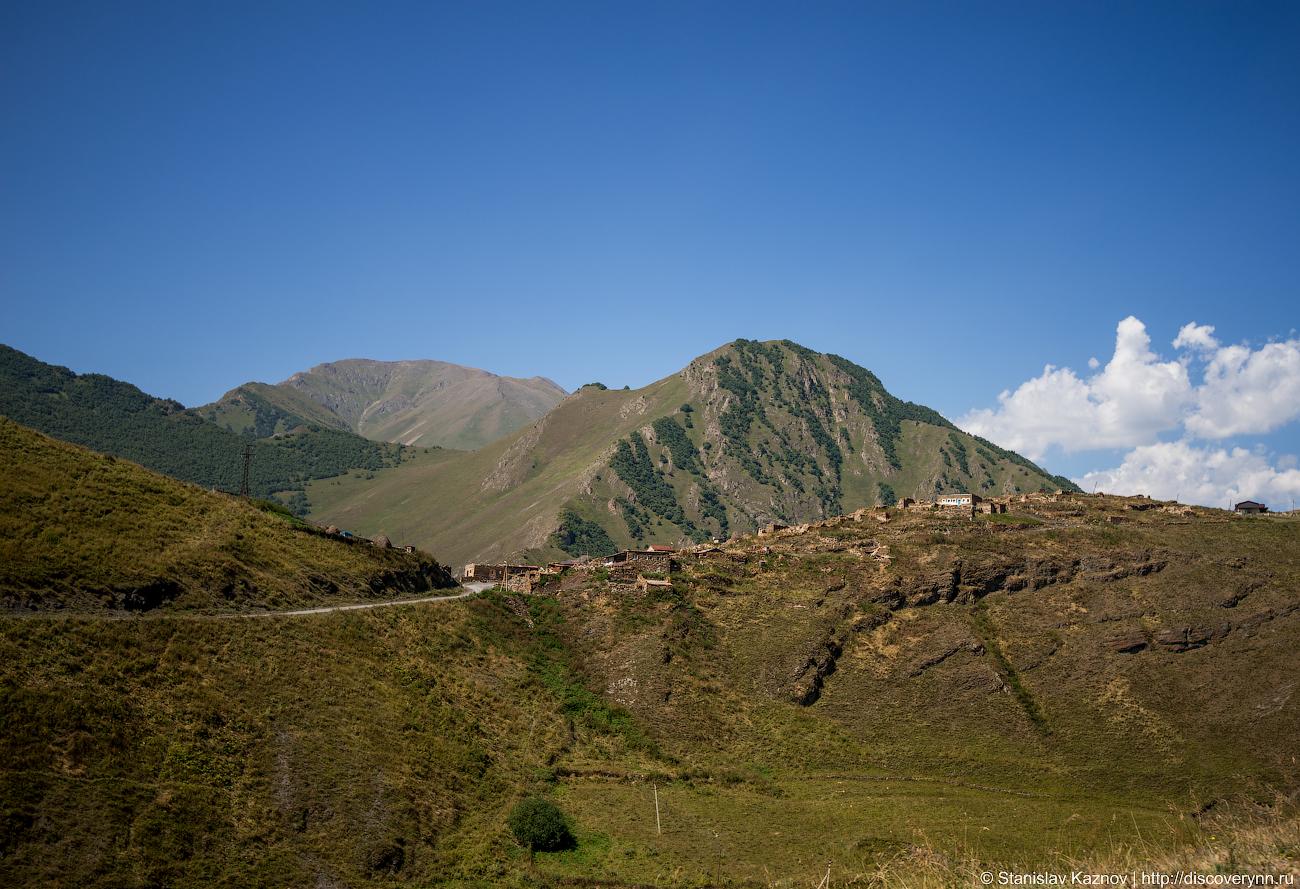 Камунта - село в котором прошел самый высокогорный