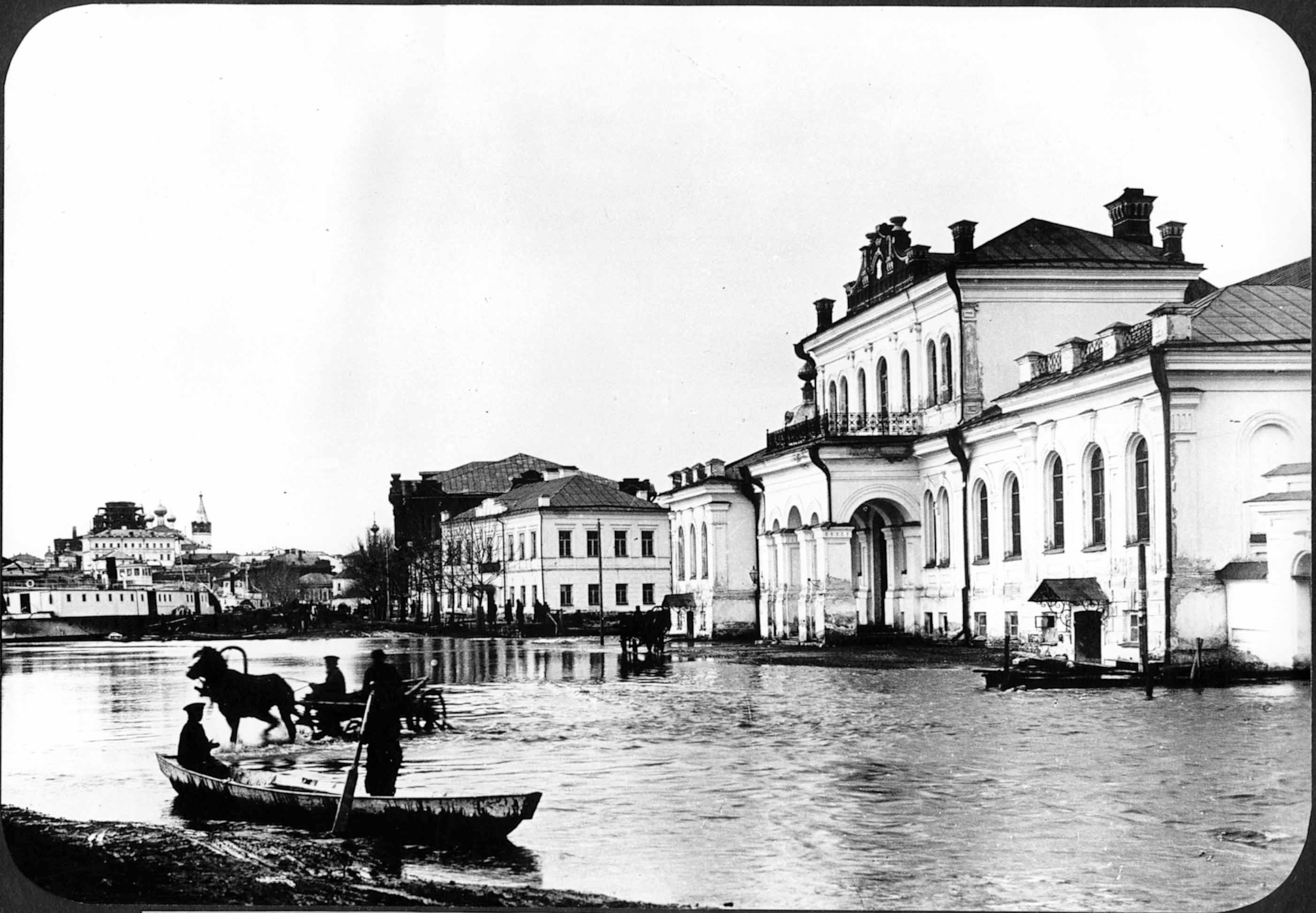 Наводнение. Особняк Кузнецова