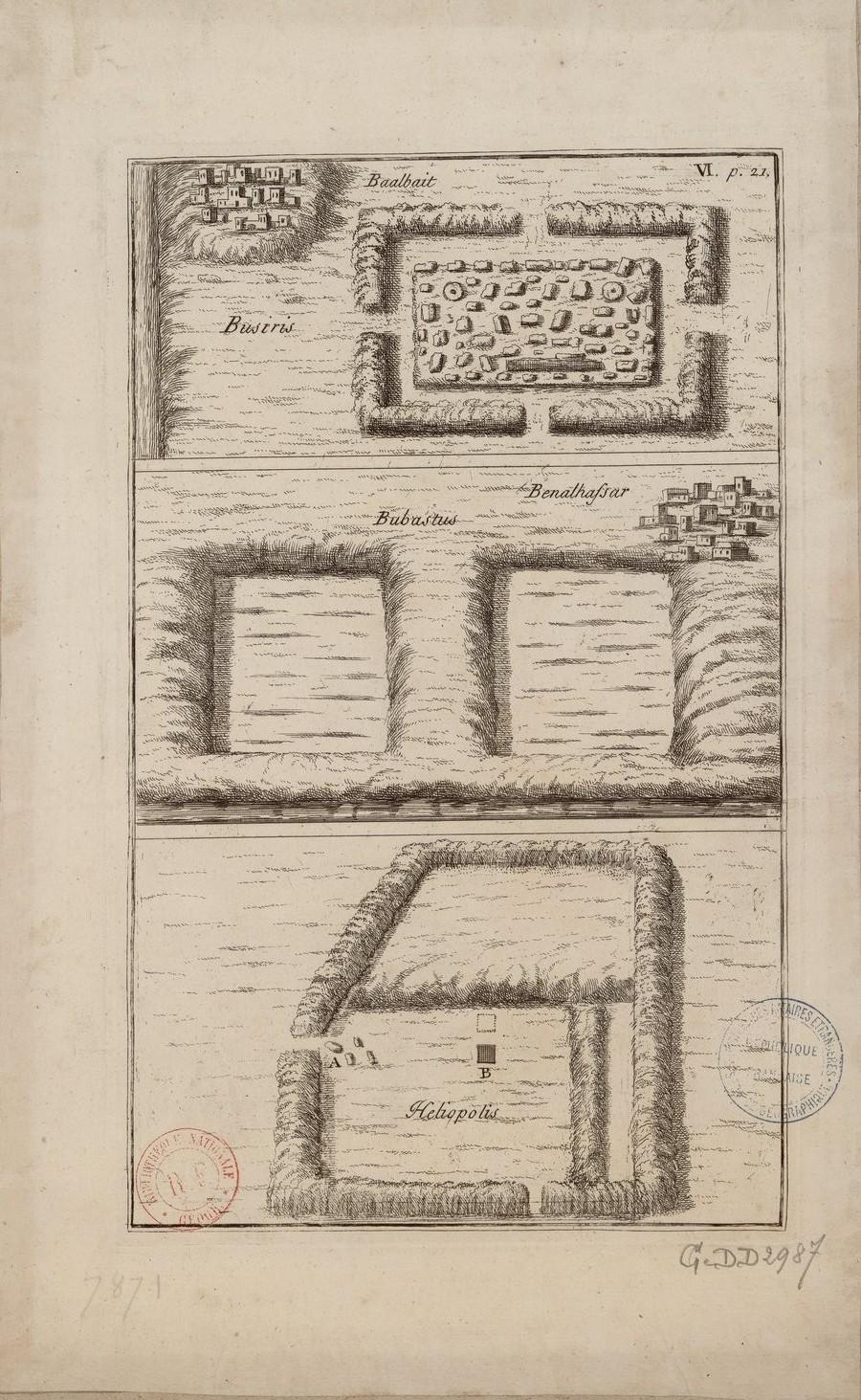 Бусирис, Беналхафсар, Гелиополис