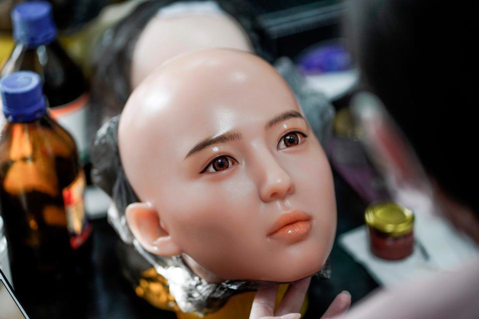 Китайское производство секс-роботов управлять, китайском, куклы, секскукол, оснащены, функцией, можно, через, интернет, отдавать, голосовые, команды, Такие, могут, Некоторые, говорить, бытовой, техникой, которая, подключена