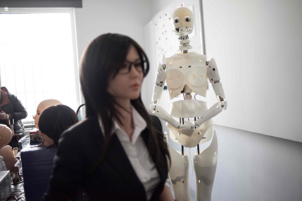 Китайское производство секс-роботов