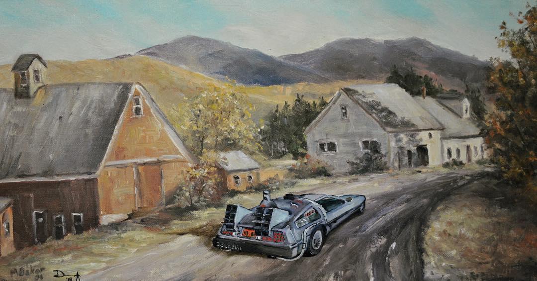 Американский художник совмещает классическую живопись с объектами современной поп-культуры