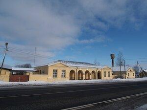 Чирковицы, здание почтовой станции, фото 2017 г