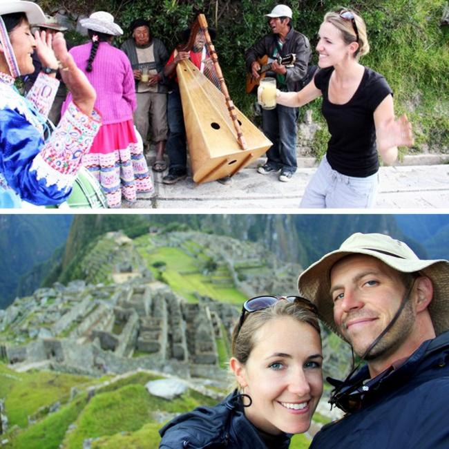 © HoneyTrek     Влюбленные путешественники считают, что совместную жизнь надо начинать с