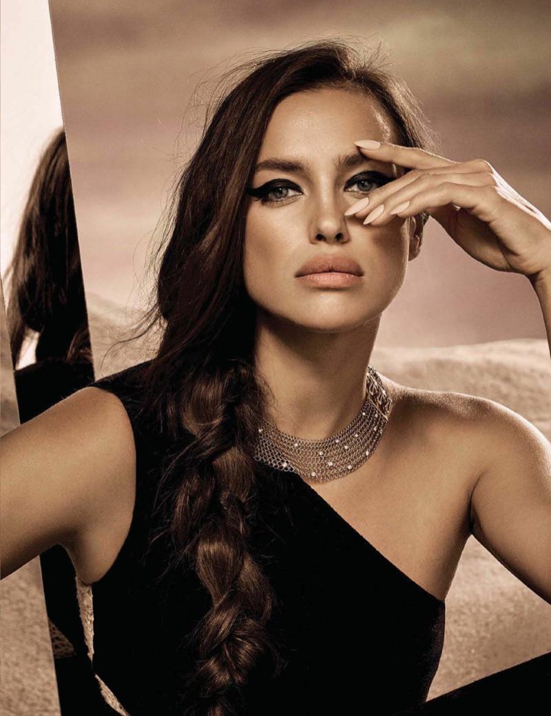 Ирина Шейк в мексиканском Vogue (8 фото)