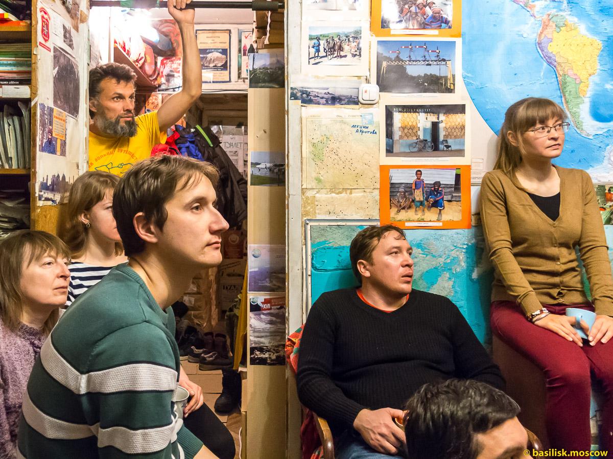 Путешественник Егор Ковальчук. Квартира Антона Кротова. Москва. 25 февраля 2017