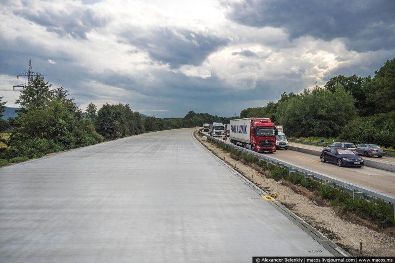 Как делают дороги в Германии