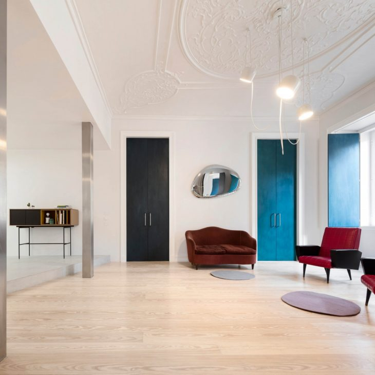 Tour The Chiado Apartment in Lisbon by FALA Atelier