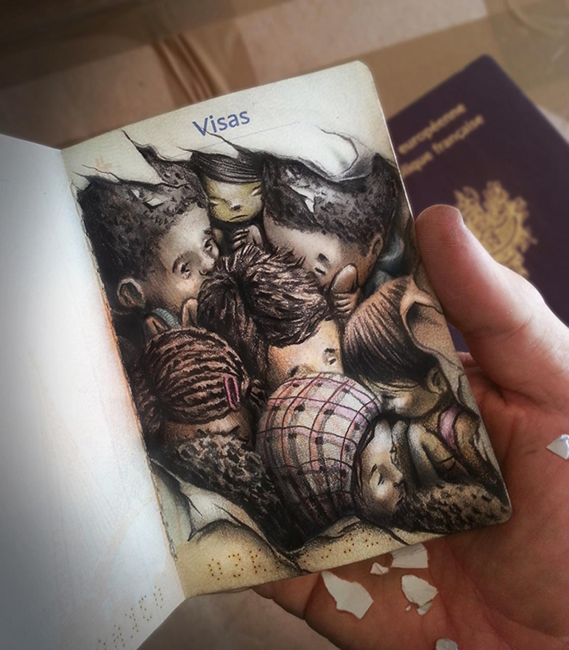 Dream and Nightmare – The latest powerful illustrations by PEZ