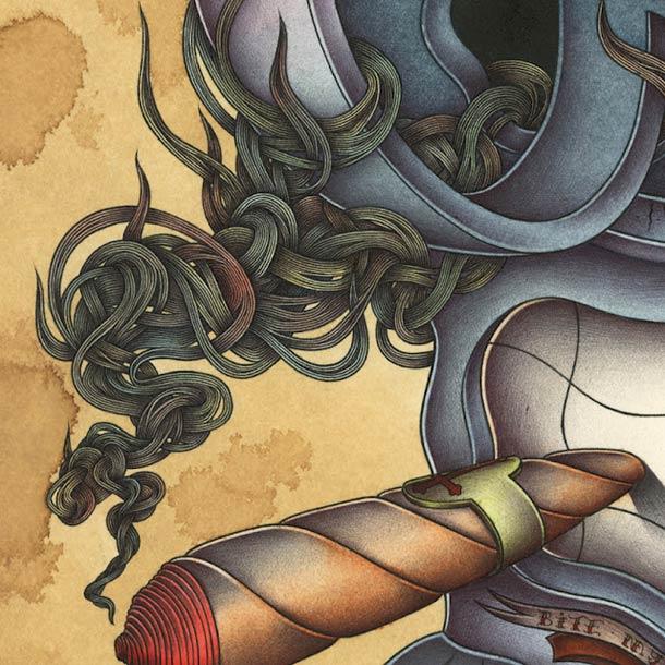 Pop Surrealist – Odo aka Nicolas Le Borgne (20 pics)