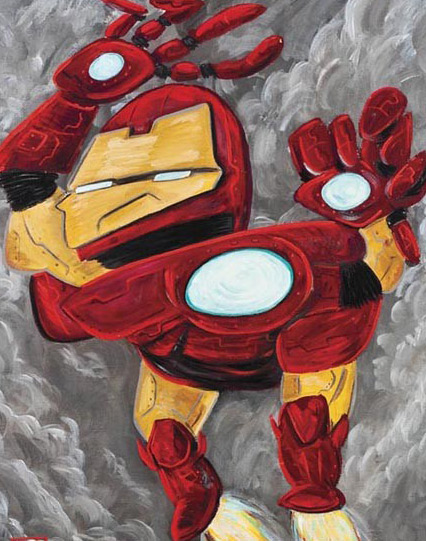 Picasso Superheroes - Mike Esparza