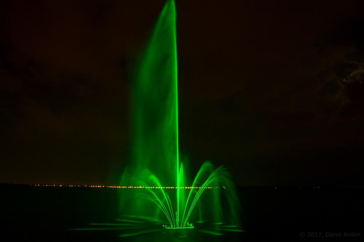 открытие фонтана Сердце Волги фото 12