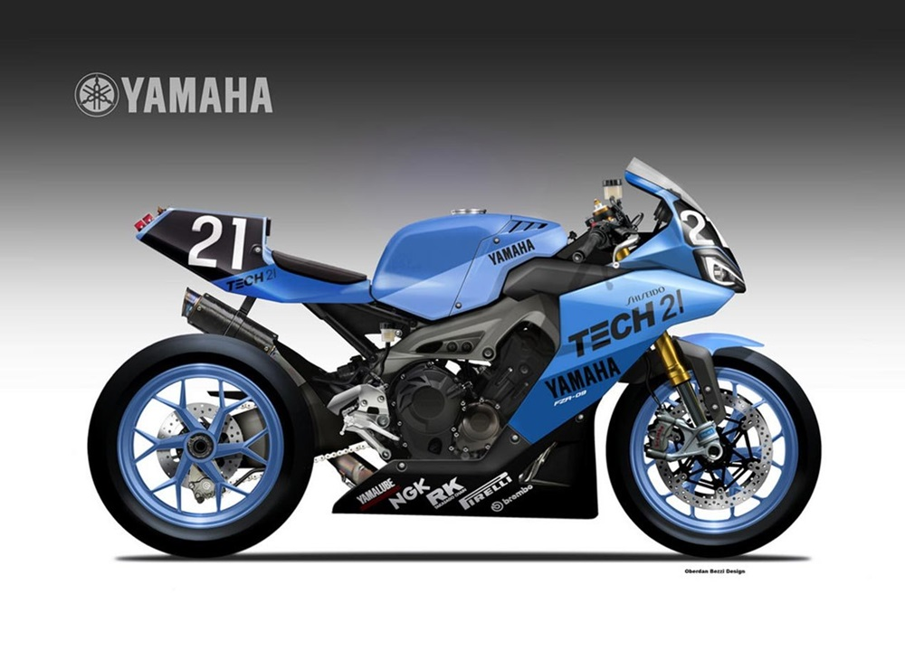Обердэн Бецци: концепт Yamaha YZR-09 Endurance
