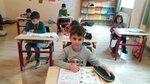 რუსული ენის გაკვეთილზე 1 კლასში