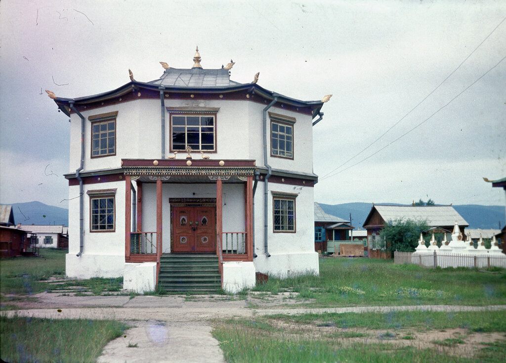 В Иволгинском дацане 1985 год