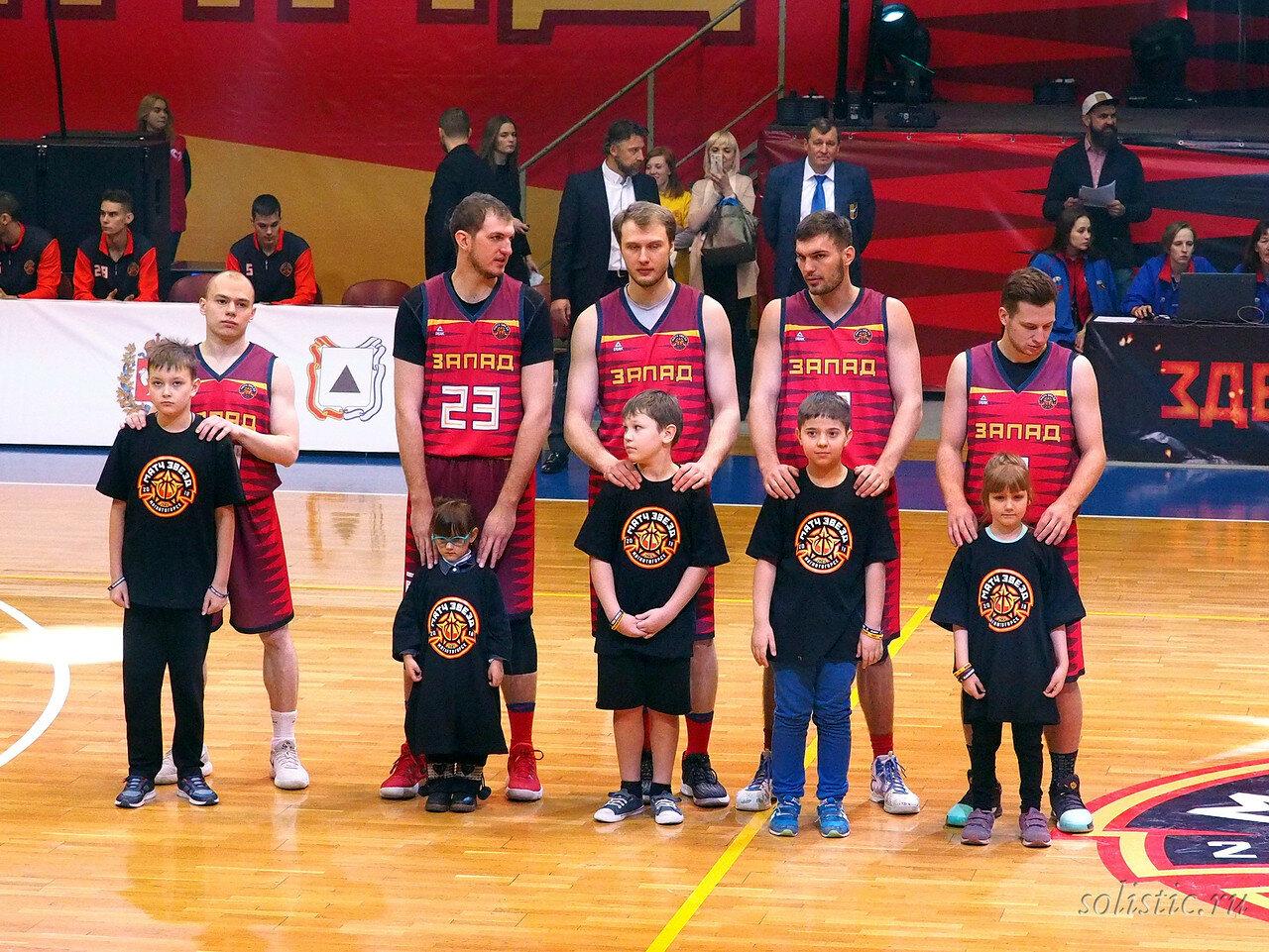 45 Матч звезд АСБ 2018 (ассоциации студенческого баскетбола)