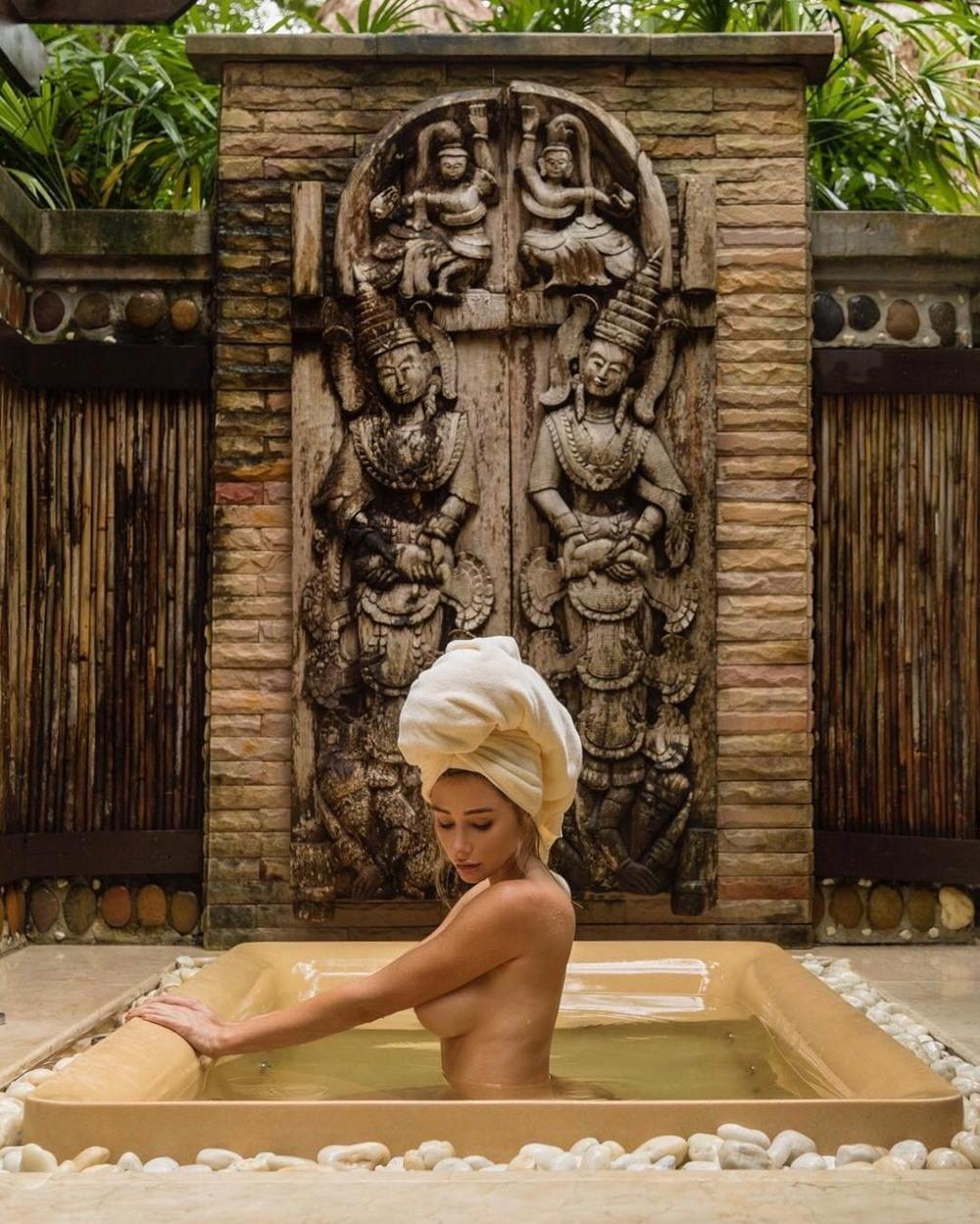 Откровенные фото Сары Андервуд 33летняя, американская, фотомодель, актриса, Андервуд, Underwood, откровенных, социальных, сетей, других