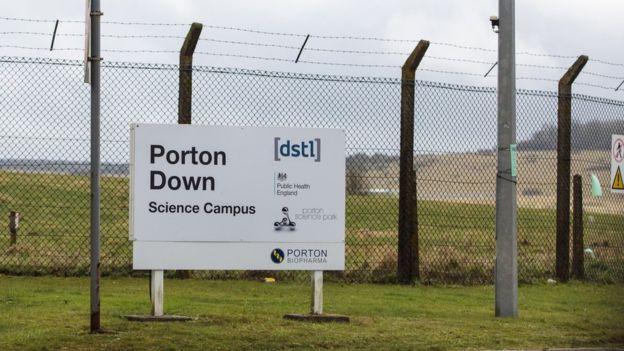 Лаборатория Портон-Даун находится неподалеку от Солсбери