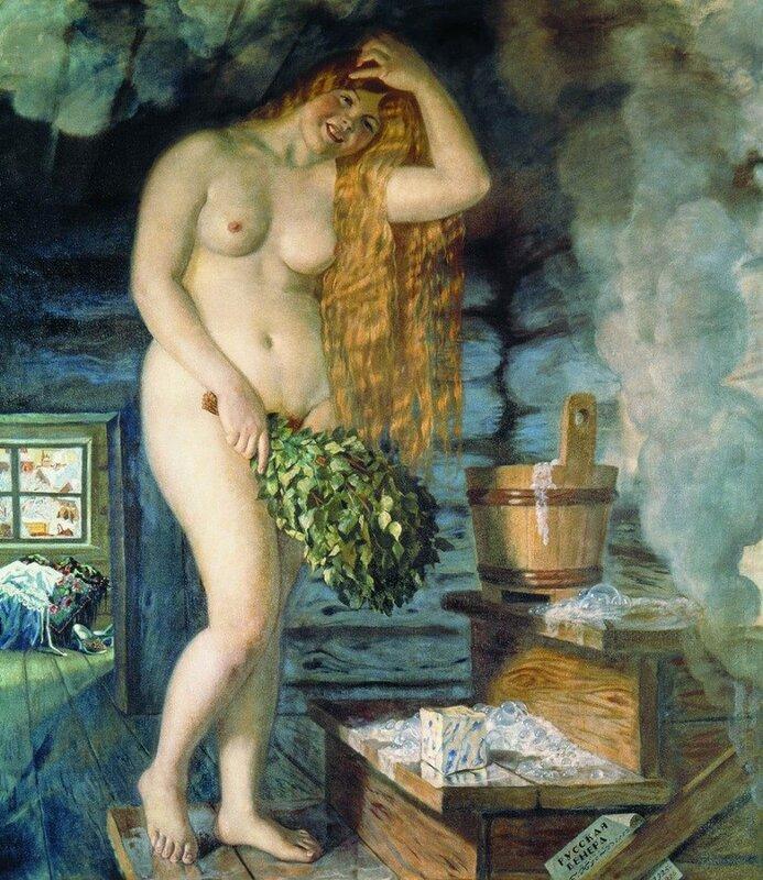 Русская Венера (моделью послужила дочь Ирина), 1926 год