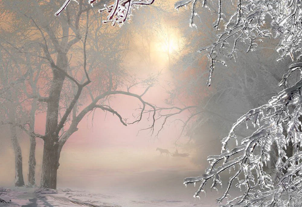 Зимний пейзаж Картинки