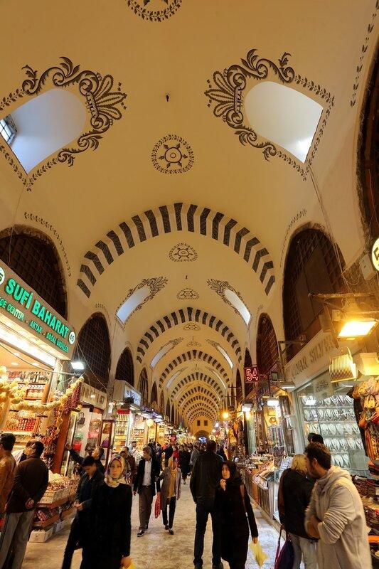 Стамбул. Египетский базар (Mısır Çarşısı)