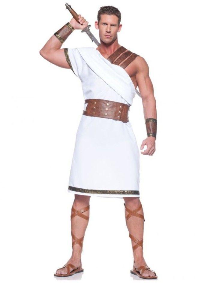 К примеру, в древней Греции и Риме тип и форма тоги намекали на социальную принадлежность мужчины.