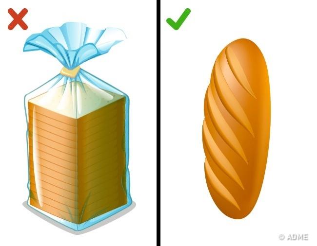 © depositphotos  © depositphotos     Свежий хлеб недолжен быть твердым, поэтому в